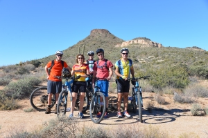 desert mountain biking in Scottsdale