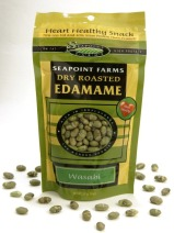 Seapoint Farms' dry-roasted edamame, or soybeans, deliver a
