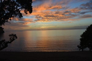 Sunrise near Whangaparoa