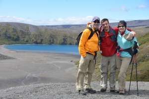 A hike to Upper Lake Tama in Tongariro National Park