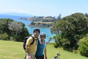 A bike ride on Waiheke Island