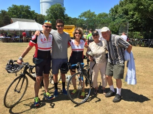 Jeff, Jordie, Ellen, Ceil and Eli Cohen