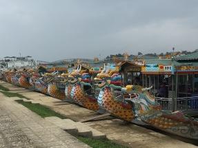 Dragon boats in Vietnam