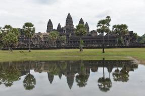 The Main Temple at Angkor Wat, Cambodia